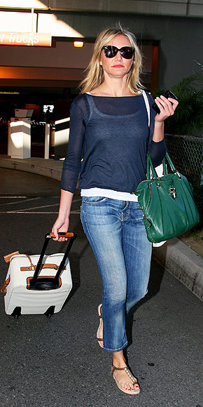 Cameron Diaz/ LAX/ photo courtesy People Stylewatch