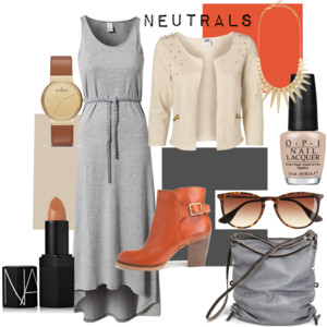 polyvore neutral