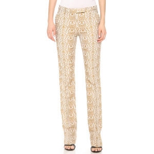 true royal jaquard pant $462 shopbop